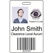 Digital Print Badge Double Sided
