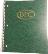 BPC 3 SUBJECT NOTEBOOK - BPC 3 Subject Notebook