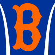 "T-shirt by Campus Connection featuring Brewton-Parker College's ""B"" baseball sport design."