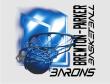 BARONS BLUE BACKBOARD - Barons Blue Backboard