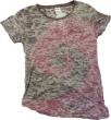 BPC PINK BURNOUT - Pink Tye Dye Burnout Tee