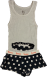 BARONS BITTY BOXER SET NAVY - Barons Sleep Set Navy