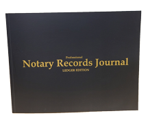 NRB-LGR - Professional Notary Records Journal Ledger Edition