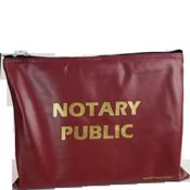 BAG-NP-LG-BRG - Large Notary Supplies Bag<br>(Burgundy)