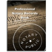 NRB - Professional Notary Records Book™